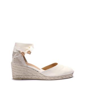 Sandales Carina Ivoire 7 cm
