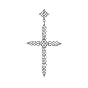 Pendentif Céleste Diamants GM Or Noir