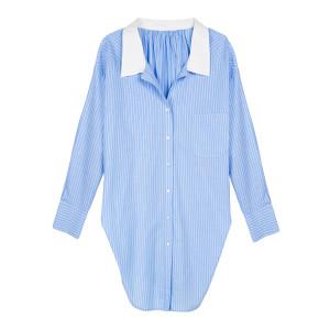 Chemise Charvet Coton Bleu Combo