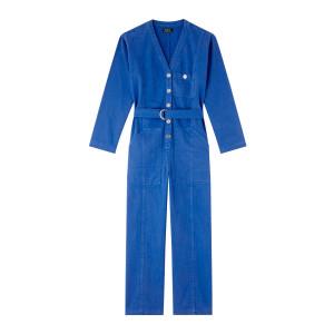 Combinaison Gaëlle Coton Bleu