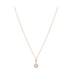 Collier Rêveuse Diamants Or Rose