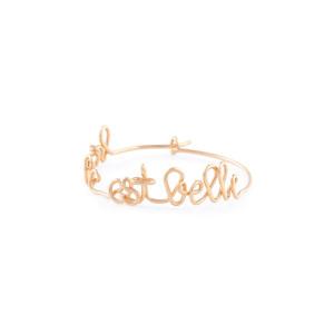 Créole La Vie est Belle Gold Filled (vendue à l'unité)