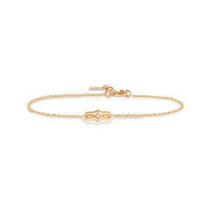 Bracelet Calypso Diamants Or Jaune