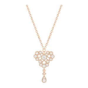 Collier Crush Diamants Or Rose