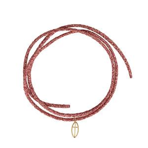 Bracelet Divine Iris Croix Or Jaune