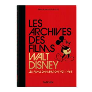 Livre Les Archives des Films Walt Disney, Les Films d'Animation