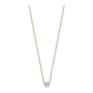 Collier Mini Star Diamants Or Rose