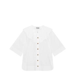 Chemise Coton Popeline Blanc
