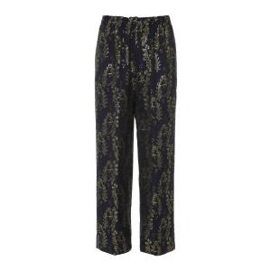 Pantalon Gipsy Gold Jaquard Bleu Nuit