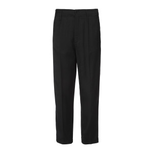 Pantalon Smoking Satin Noir
