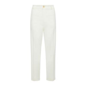 Pantalon Fluide Chino Ivoire
