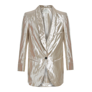 Veste Lin Lurex Madreperla Rose