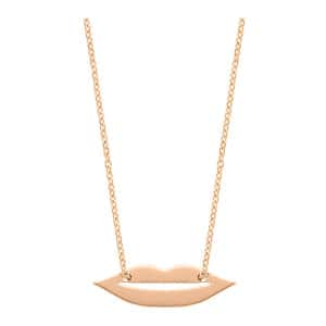 Collier French Kiss Mini Or Rose
