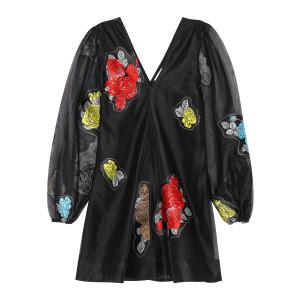 Robe Imprimé Noir