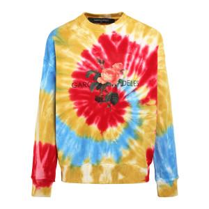 Sweatshirt Tie & Dye Coton Multicolore