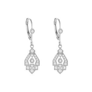 Boucles d'oreilles Dormeuses Gilda Or Diamants