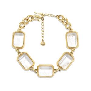 Collier Stones Cristal de Roche Naturel