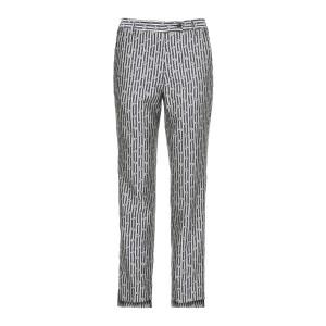 Pantalon Venice Rayures Fleurs Navy