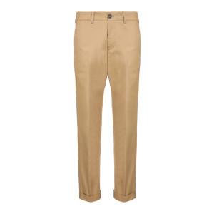 Pantalon Homme Chino Conrad Coton Beige