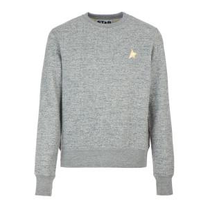 Sweatshirt Homme Archibald Étoile Coton Gris