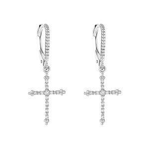 Boucles d'oreilles Dormeuses Grace Or Diamants