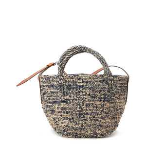 Sac Madio Beige Navy, Exclusivité Lulli