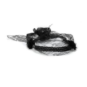 Headband Ida Dentelle Noir