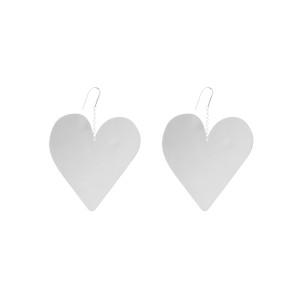 Boucles d'oreilles Shiny in Love Laiton Argenté