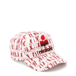 Casquette Tyron Coton Tie And Dye Rouge