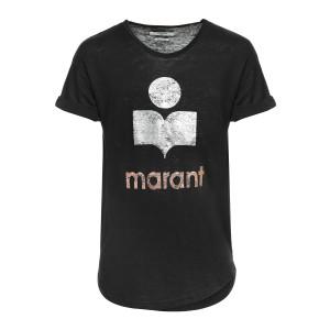 Tee-shirt Koldi Lin Noir Argenté