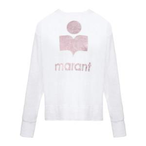 Tee-shirt Klowia Coton Rose Blanc