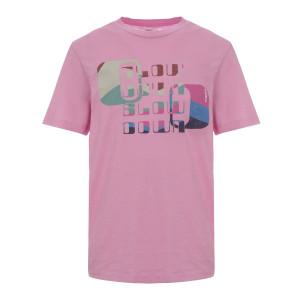 Tee-shirt Zewel Coton Rose Néon