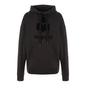 Sweatshirt Mansel Coton Noir Délavé