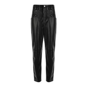 Pantalon Dipadelac Cuir Noir