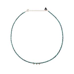 2019 authentique large choix de designs authentique Collier Facettes Malachite
