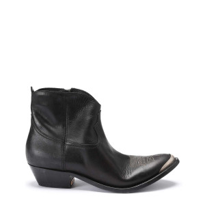Bottines Young Cuir Noir
