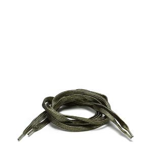 Lacets Plats Noirs Dorés 115 cm
