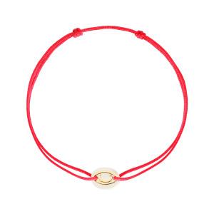 Bracelet Cordon Iris Nacre Or Jaune
