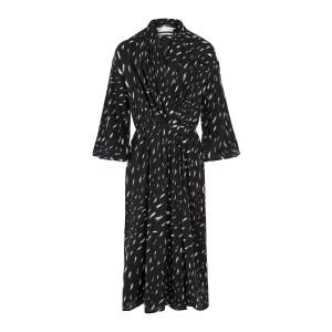 Robe Aty Blanc Noir