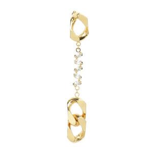 Boucle d'oreille Holy Swarovski Laiton Doré (vendue à l'unité)