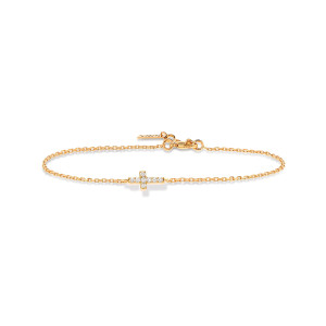 Bracelet Maria Diamants Or Jaune