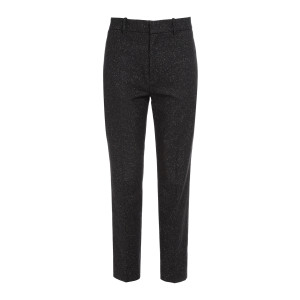 Pantalon Coman Laine Noir