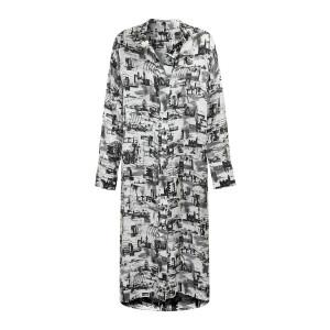 Robe Gaya Imprimé Noir