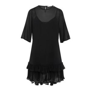 Robe Volants Noir