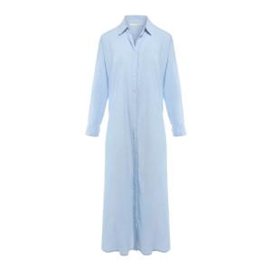 Robe Boden Coton Bleu Ciel