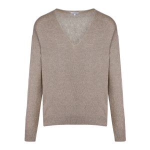 Pull Cenzo Col V Taupe
