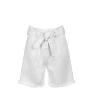 Short Folco Denim Blanc