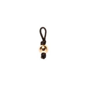 Pendentif Sublime M Comme Méditerranée Maxi Perle Noir Or