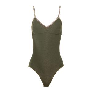 Body Bretelles Georgia Lurex Vert