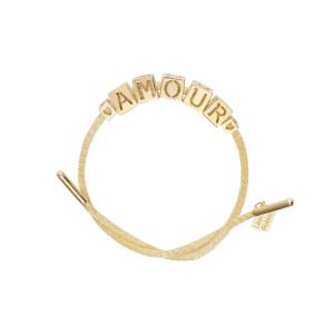 Bracelet AMOUR 14 Carats Or Jaune